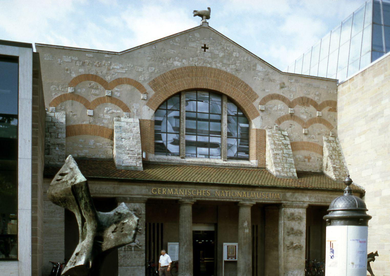 Germanisches Nationalmuseum ehemaliger Haupteingang