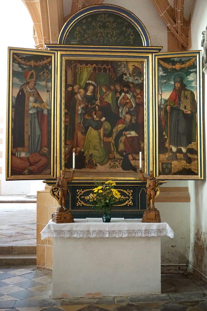 Pflockscher Altar Gesamtansicht