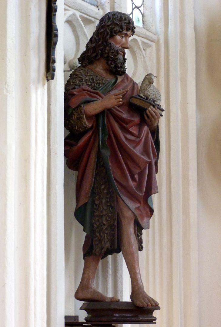 Johannes der Täufer Gesamtansicht
