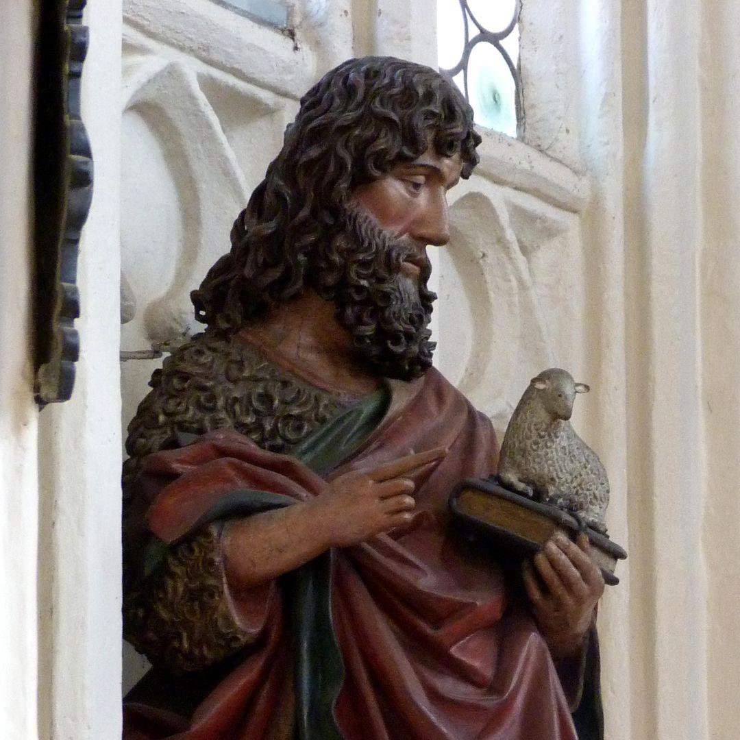 Johannes der Täufer Detail