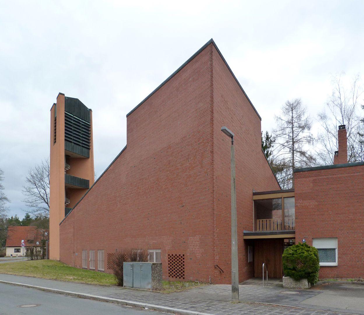 Himmelfahrtskirche Ansicht von Südwest