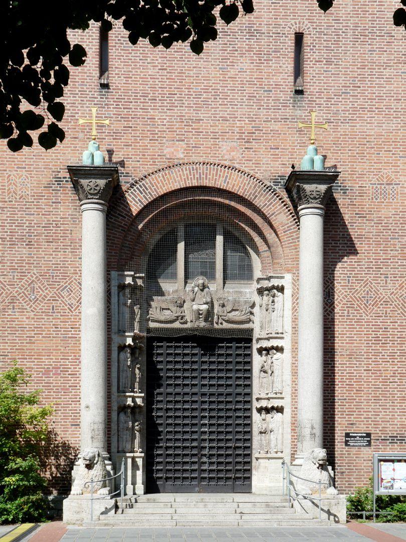 Friedenskirche Friedenskirche, Turmportal