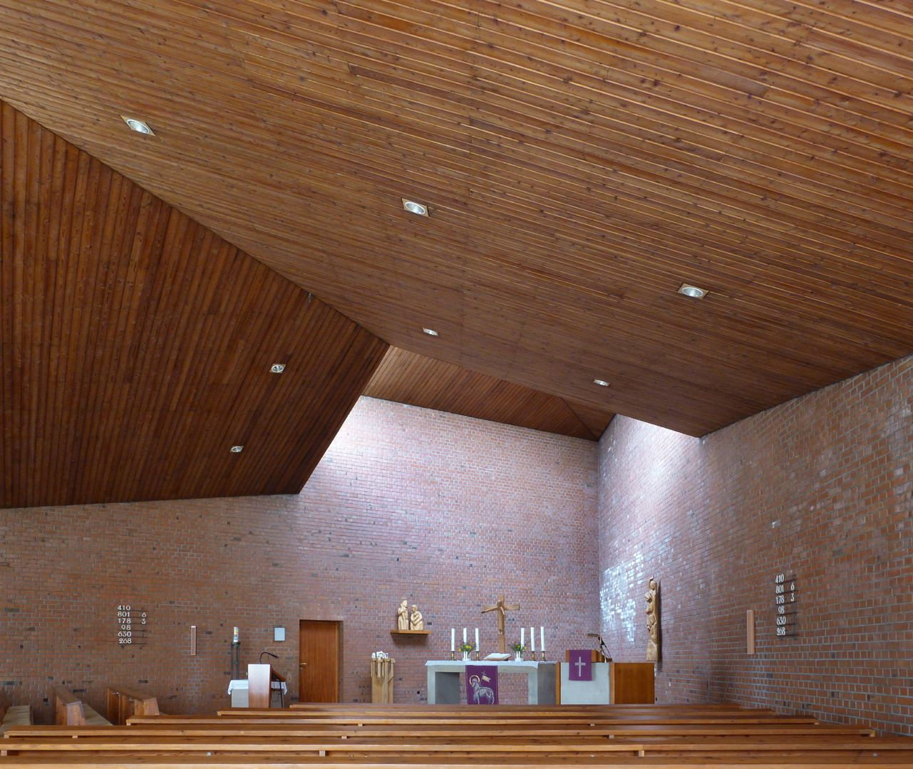 Himmelfahrtskirche Kirchenraum