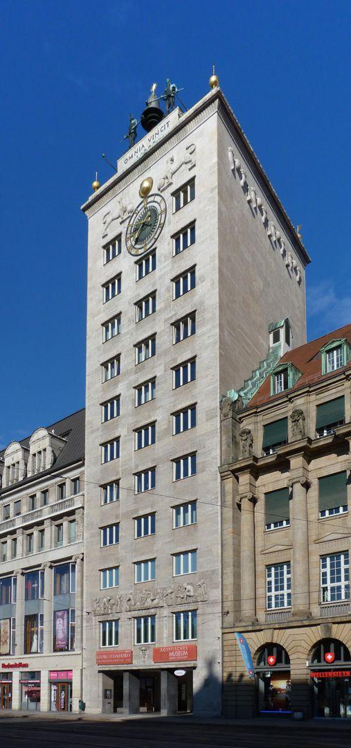 Bankhochhaus Kroch (Leipzig) Gesamtansicht