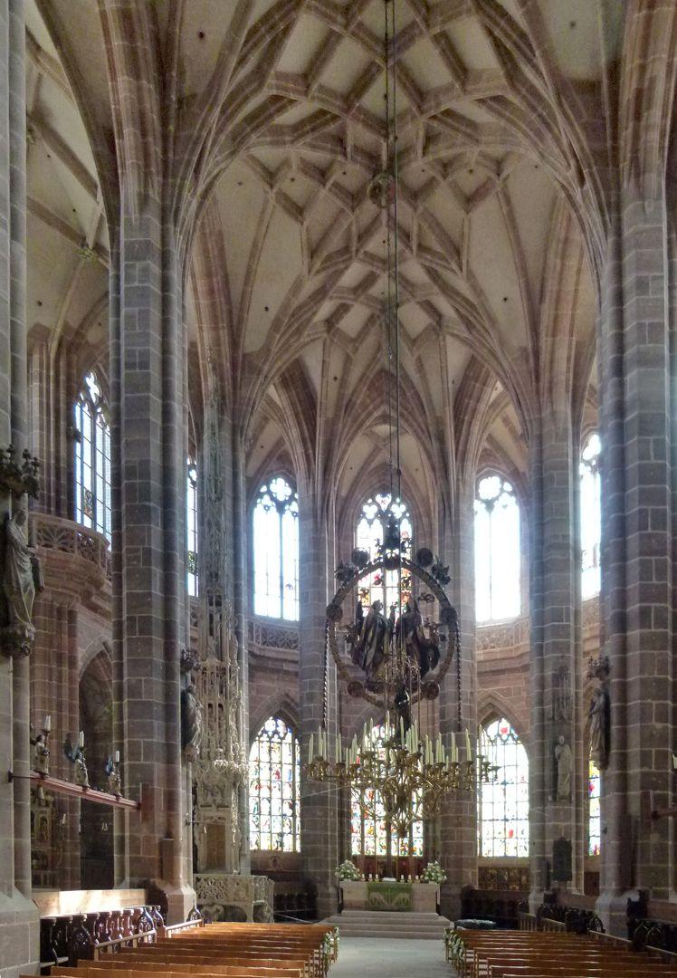 St. Lorenz, Chor Chor, Innenansicht