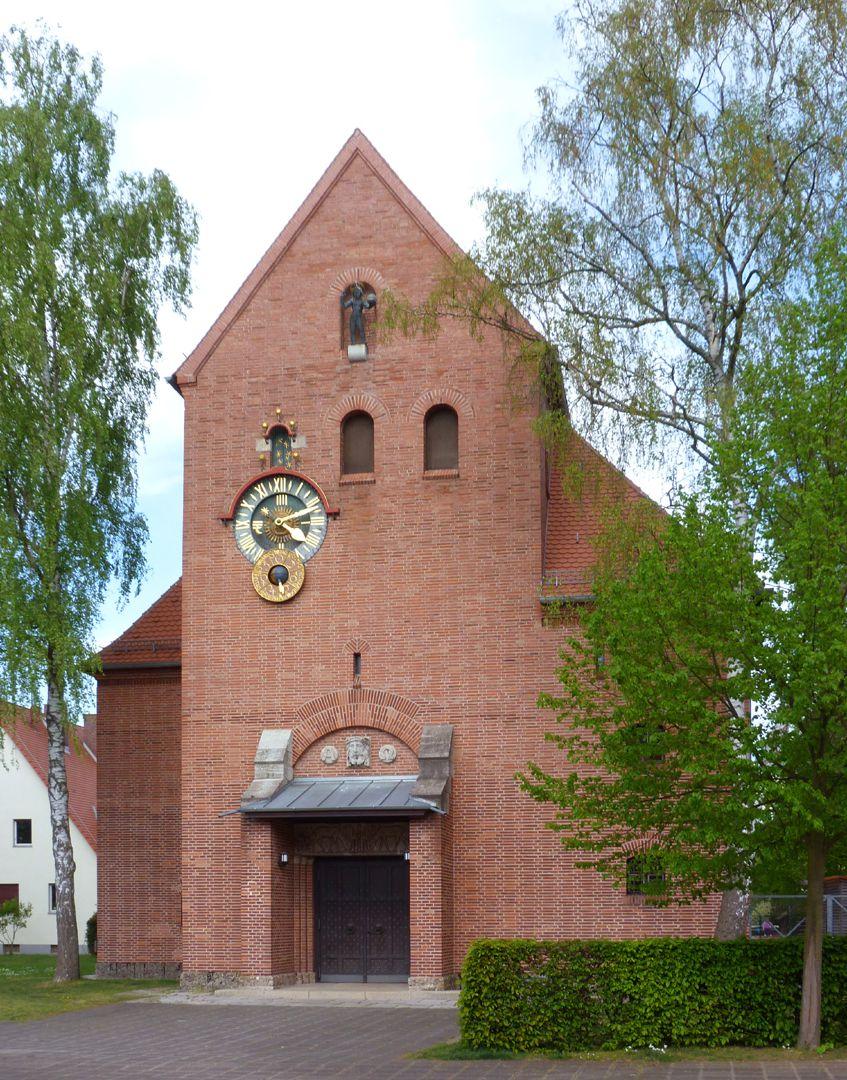 Melanchthonkirche Fassade