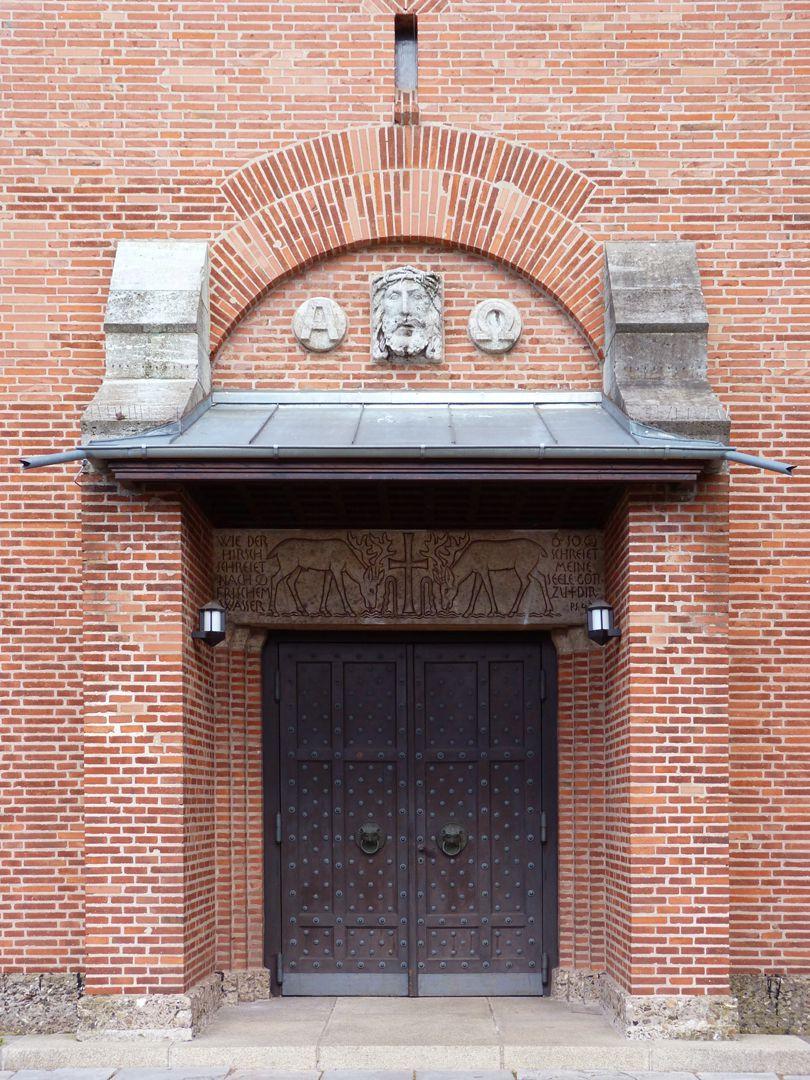 Melanchthonkirche Portal