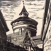An der Neutormauer mit Neutorturm