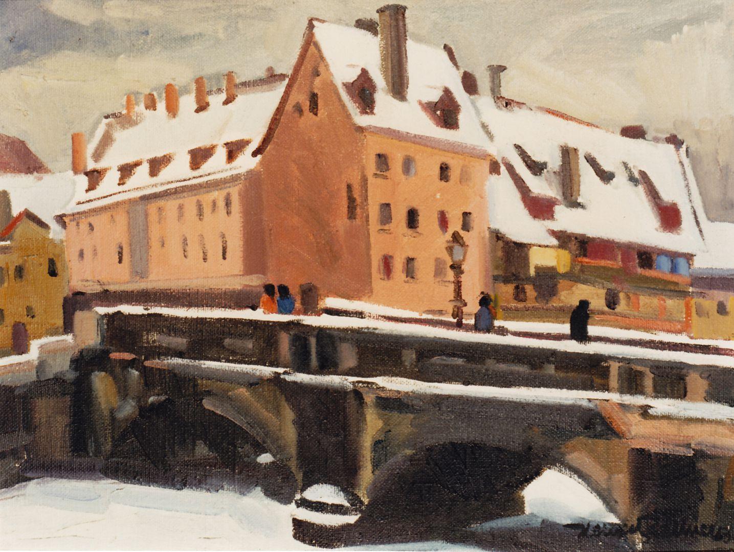 Maxbrücke im Winter Maxbrücke im Winter