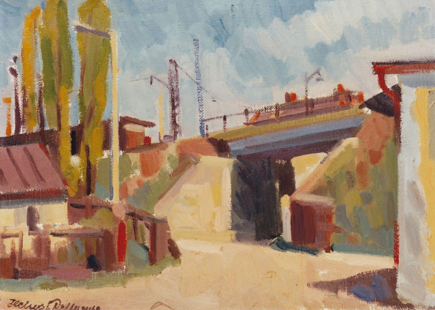 Eisenbahnbrücke am Haltepunkt Rothenburger Straße Eisenbahnbrücke am Haltepunkt Rothenburger Straße