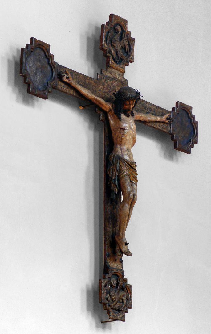 Kruzifix Schrägansicht