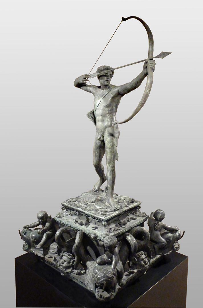 Apollobrunnen Gesamtansicht