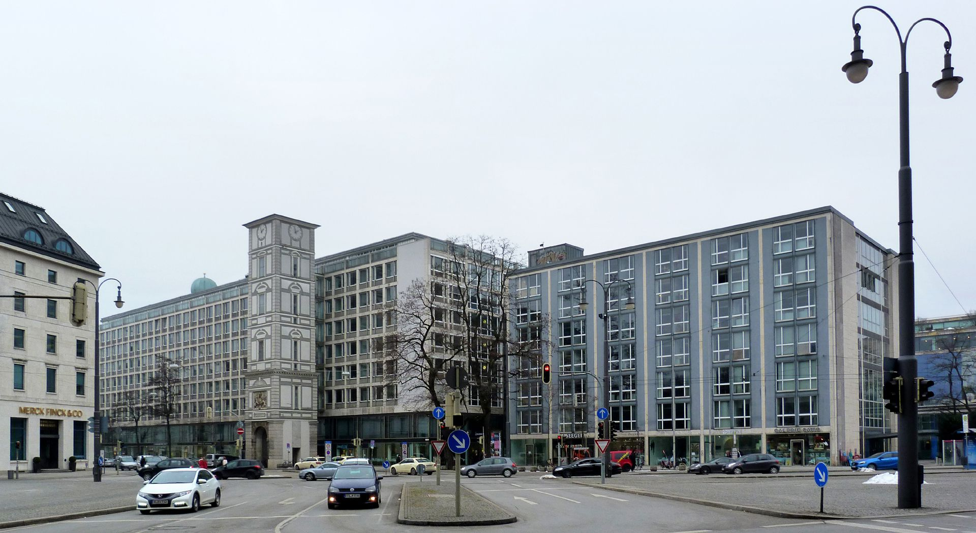 Herzog-Max-Burg, München, Justizgebäude Gesamtansicht