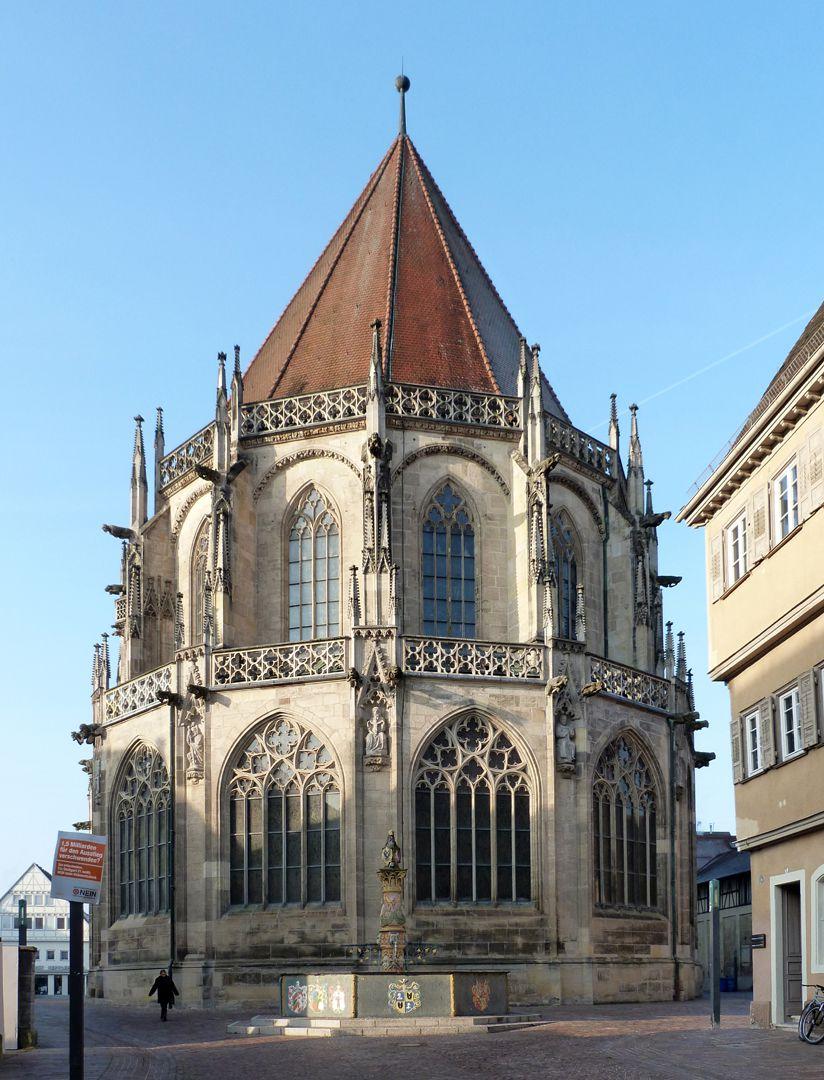 Schwäbisch Gmünd, Heilig-Kreuz-Münster: Chor von O Chor von O
