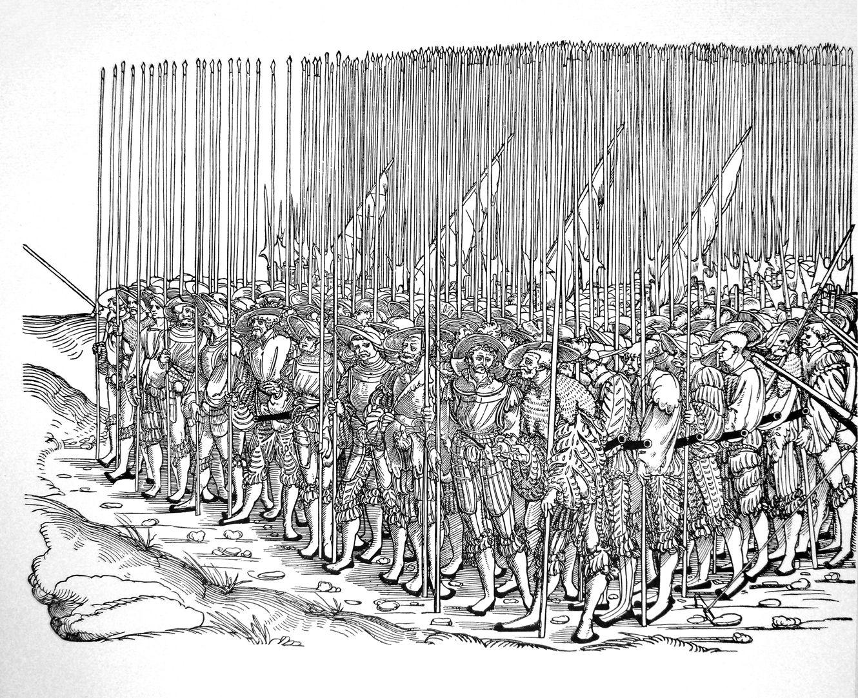Die Belagerung Münsters fünftes siebtel