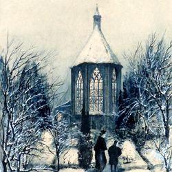 St. Johanniskirche im Winter