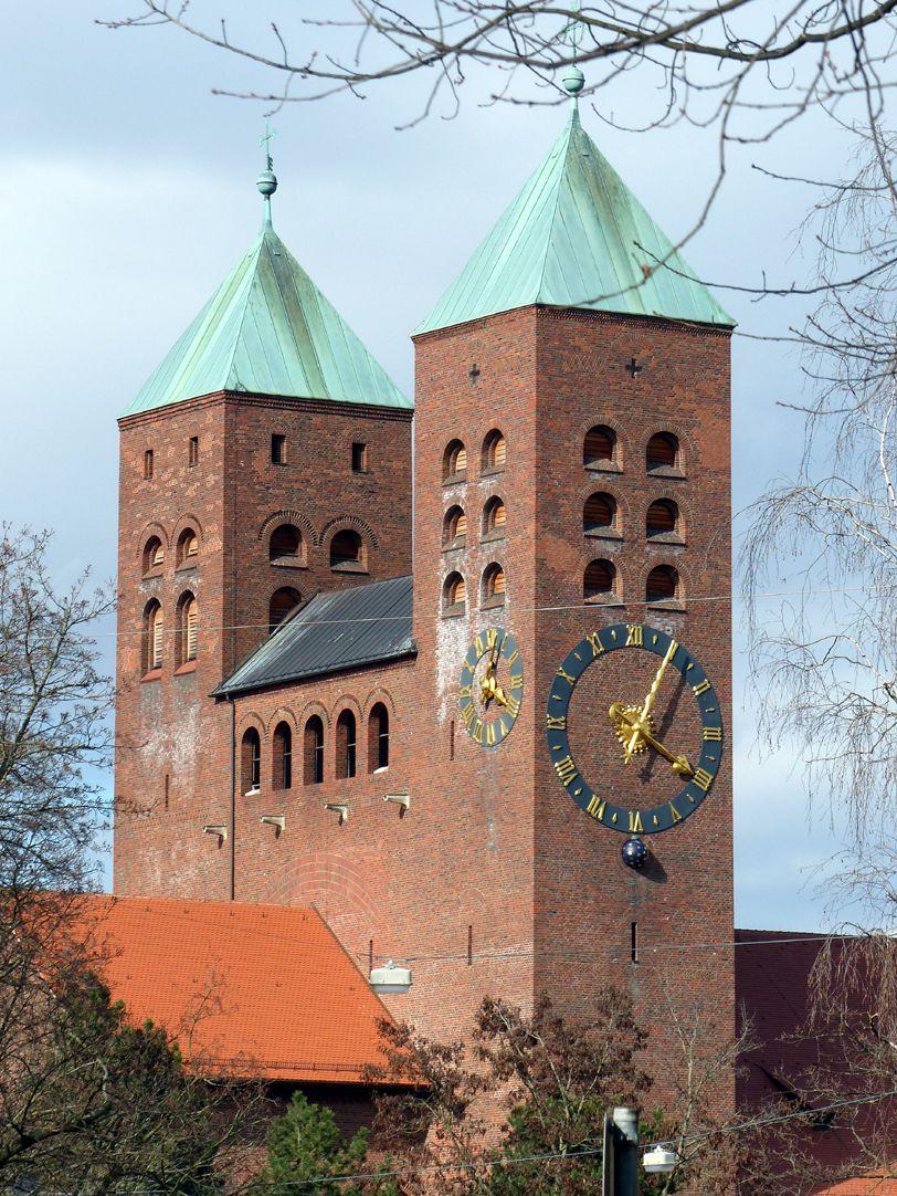 Gustav-Adolf-Gedächtniskirche Westtürme