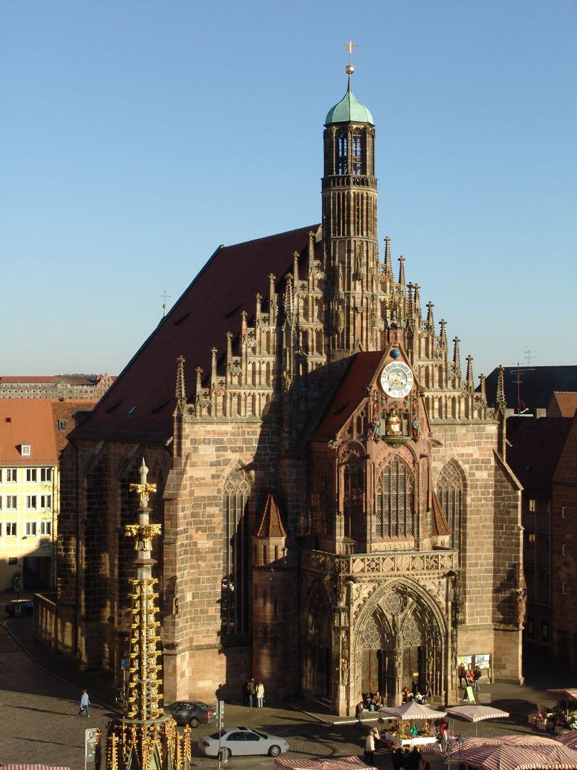 Frauenkirche, Westfassade Frauenkirche von NW