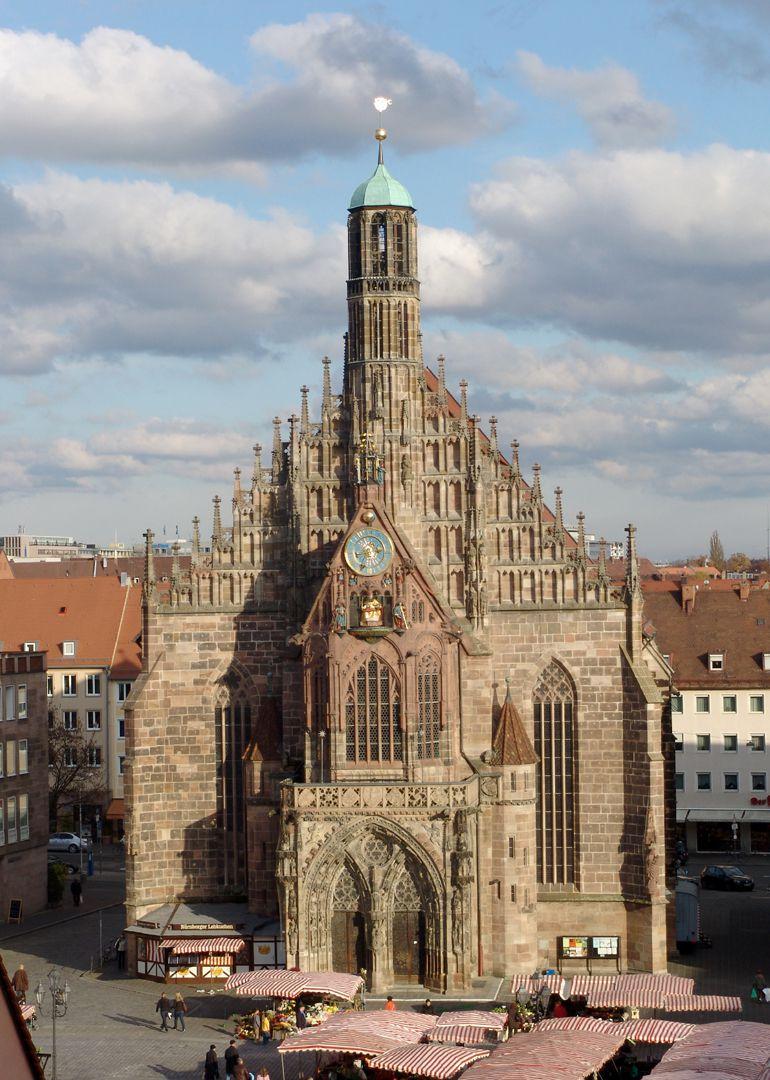 Frauenkirche, Westfassade Gesamtansicht