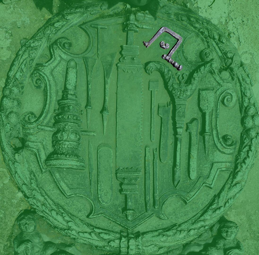 Epitaph des Eucharius Voytt Laubsäge