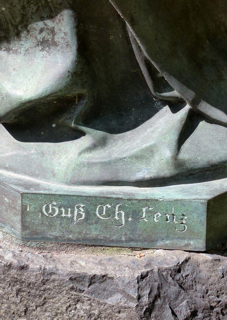 sog. Nürnberger Madonna Signatur