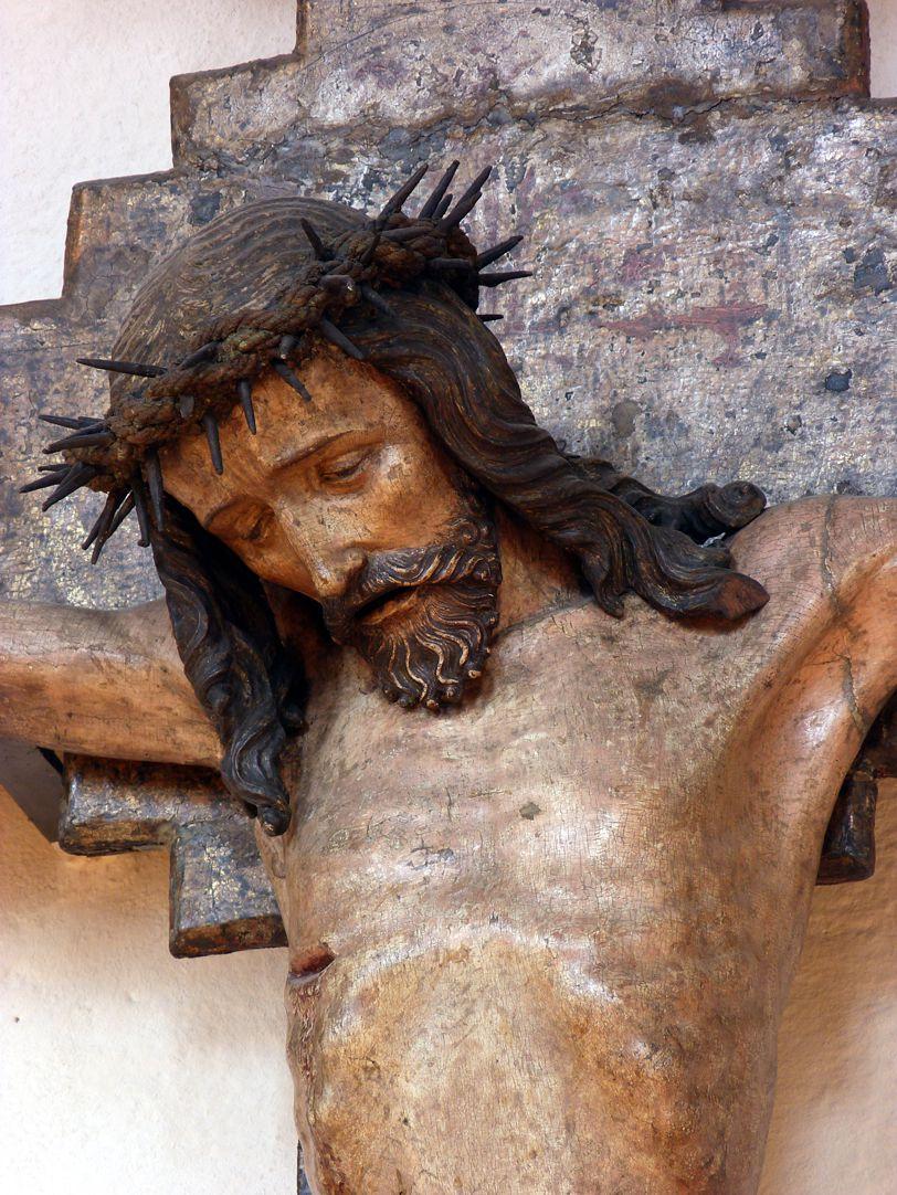 Kruzifix Haupt