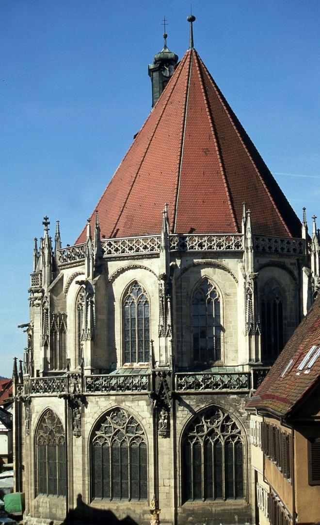 Heilig-Kreuz-Münster in Schwäbisch-Gmünd Heilig-Kreuz-Münster von O