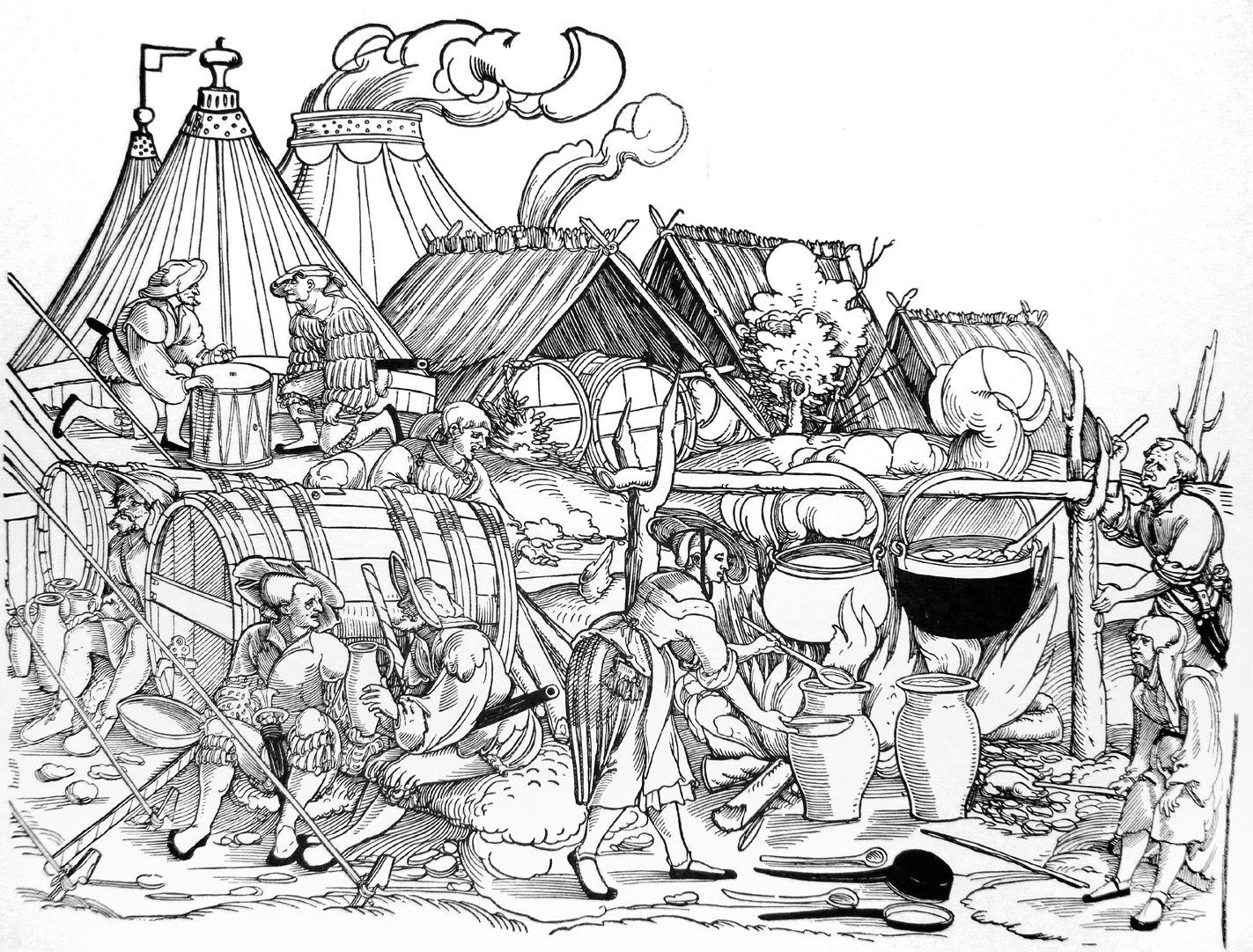 Die Belagerung Münsters siebtes siebtel