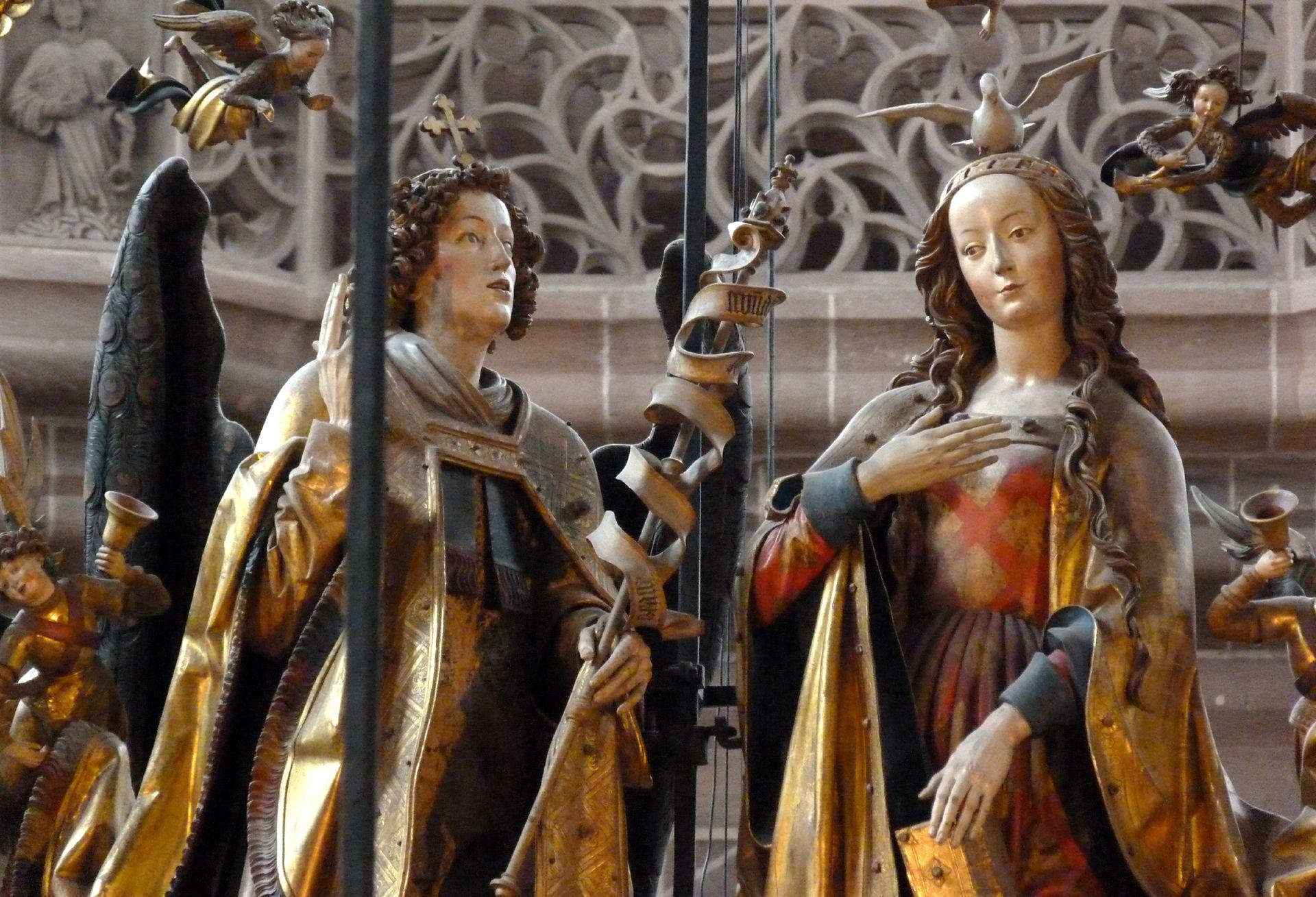 Englischer Gruß Maria und Gabriel