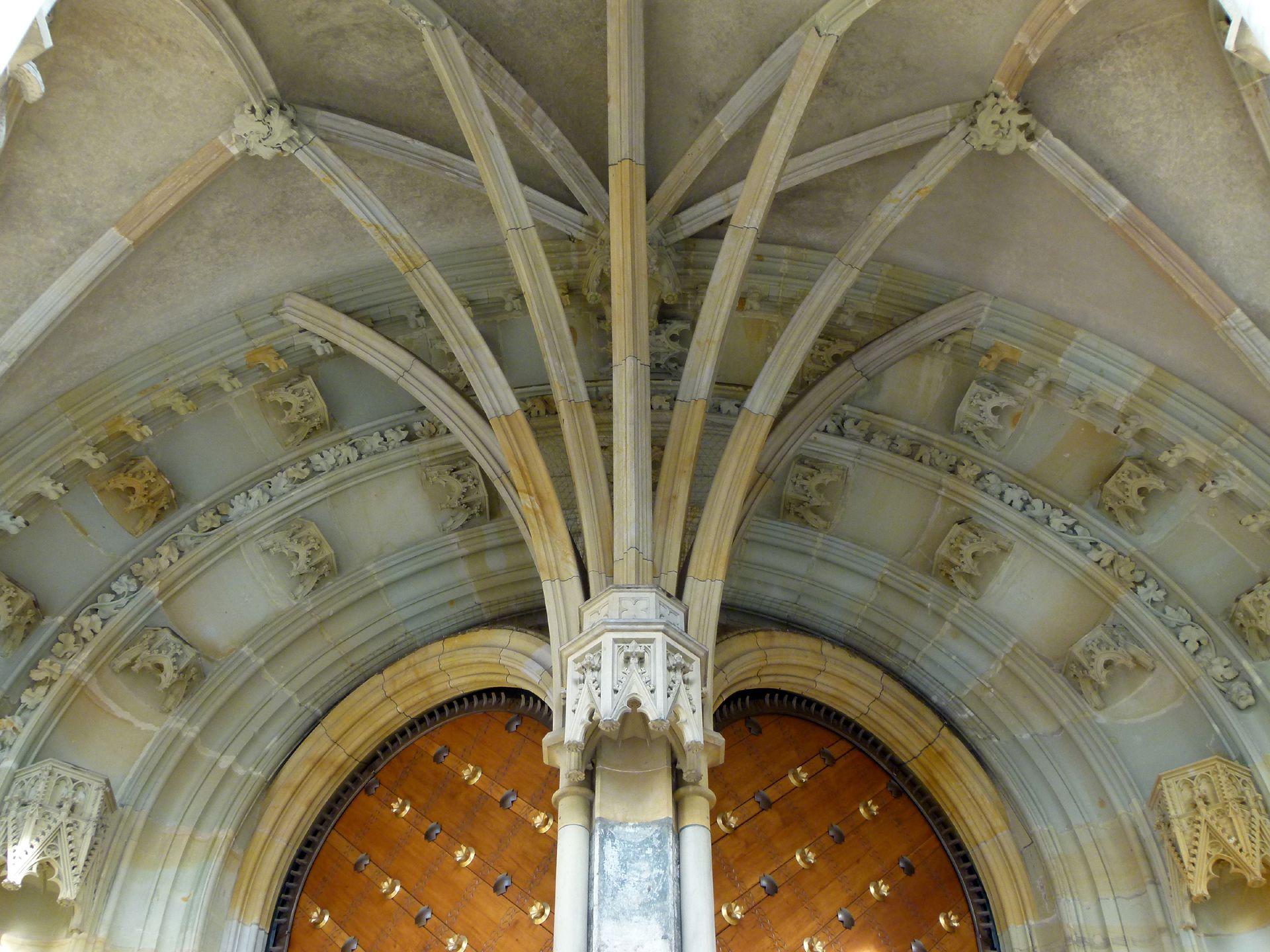 Prag, Veitsdom südliche Vorhalle, 1367-68, Detail
