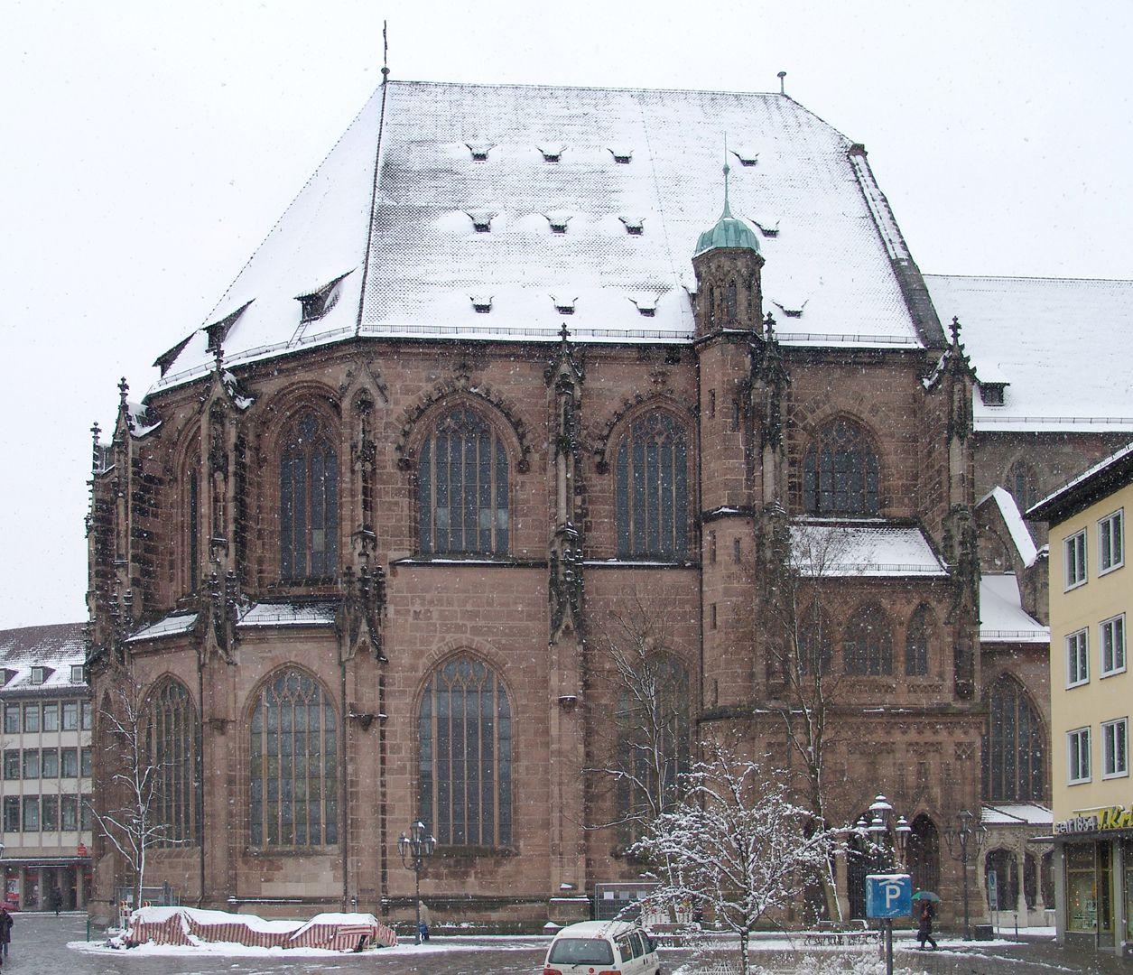 St. Lorenz, Chor Chor von N (mit den tradierten Dachgauben)