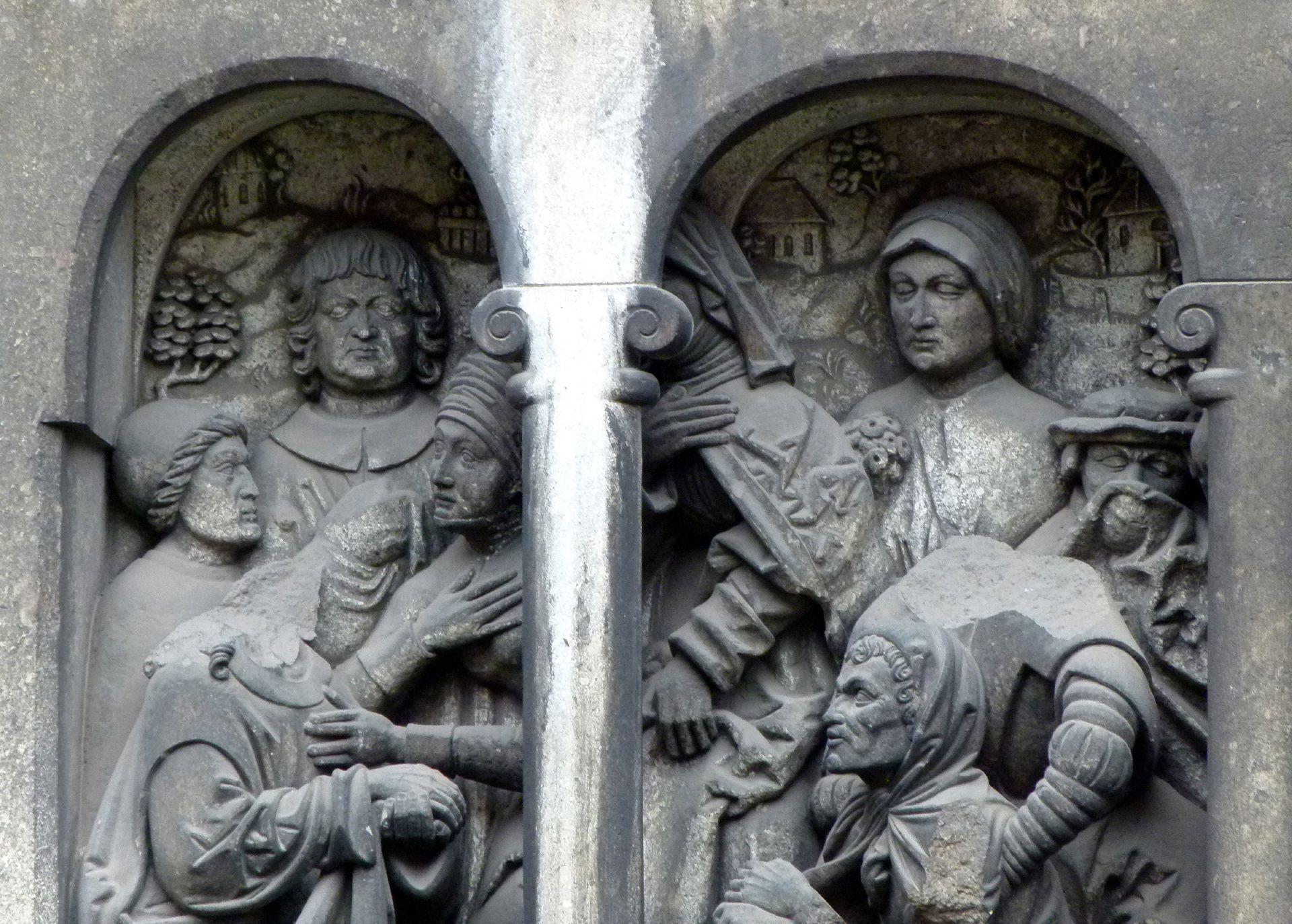 Auferstehung des Lazarus Detail