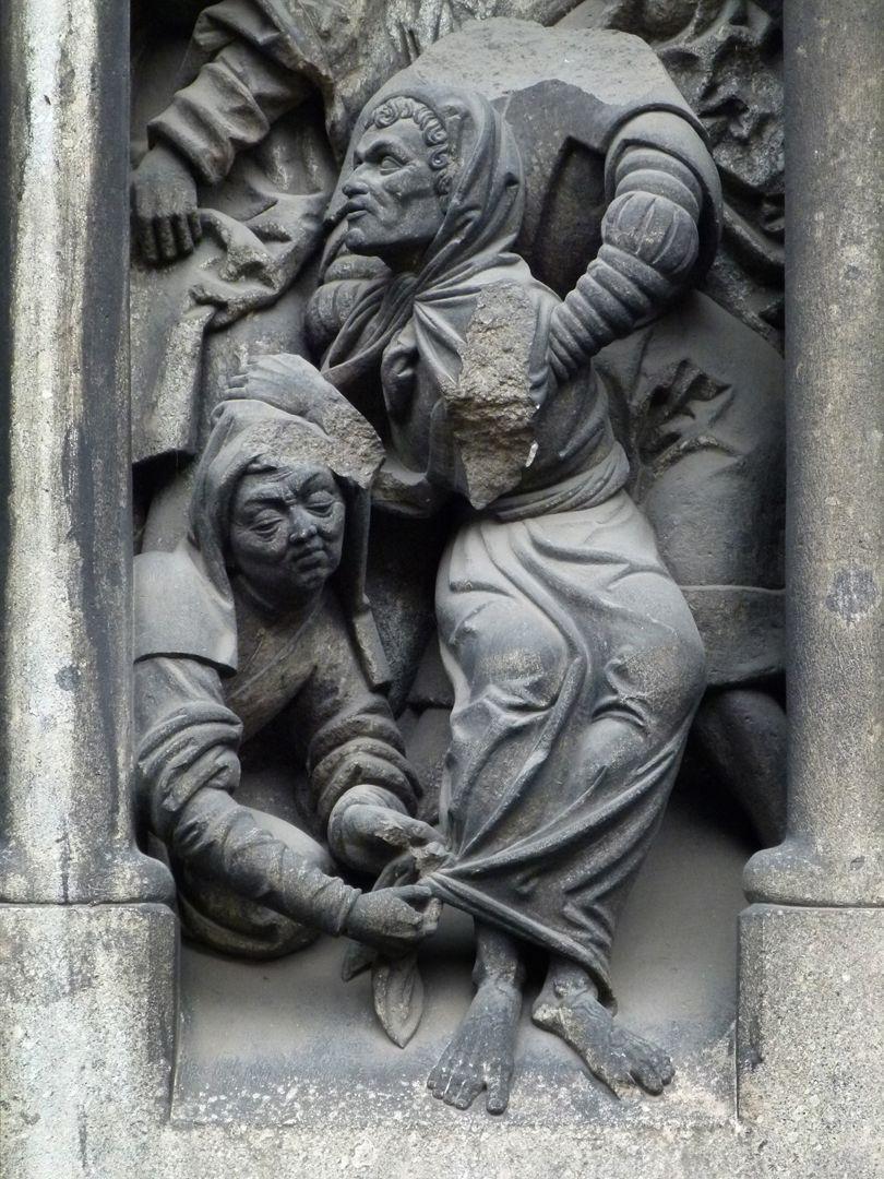 Auferstehung des Lazarus Lazarus wird aus dem Grab geholt