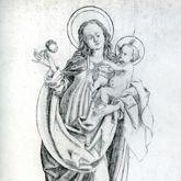 Mutter Gottes mit dem Granatapfel