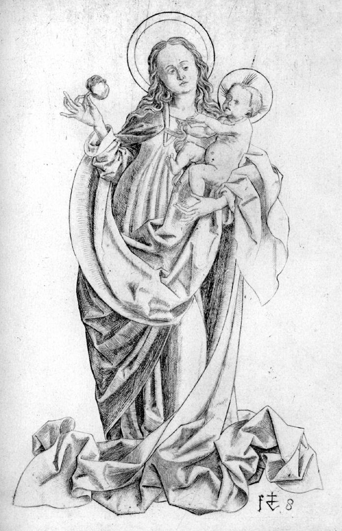 Mutter Gottes mit dem Granatapfel Mutter Gottes mit dem Granatapfel