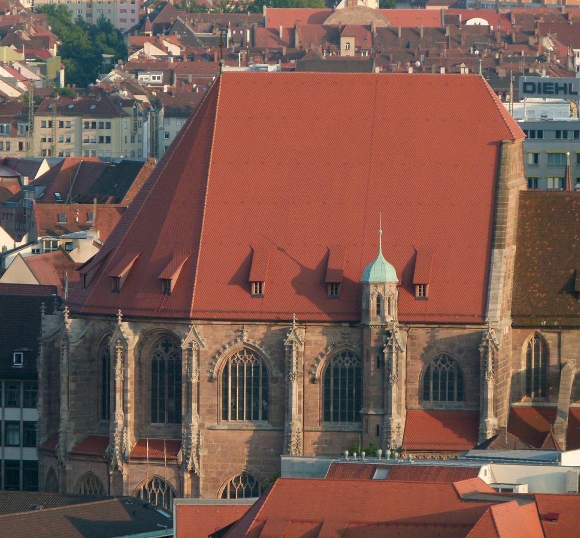 St. Lorenz, Chor Chor von N (mit der 2010 geänderten Dachsituation)