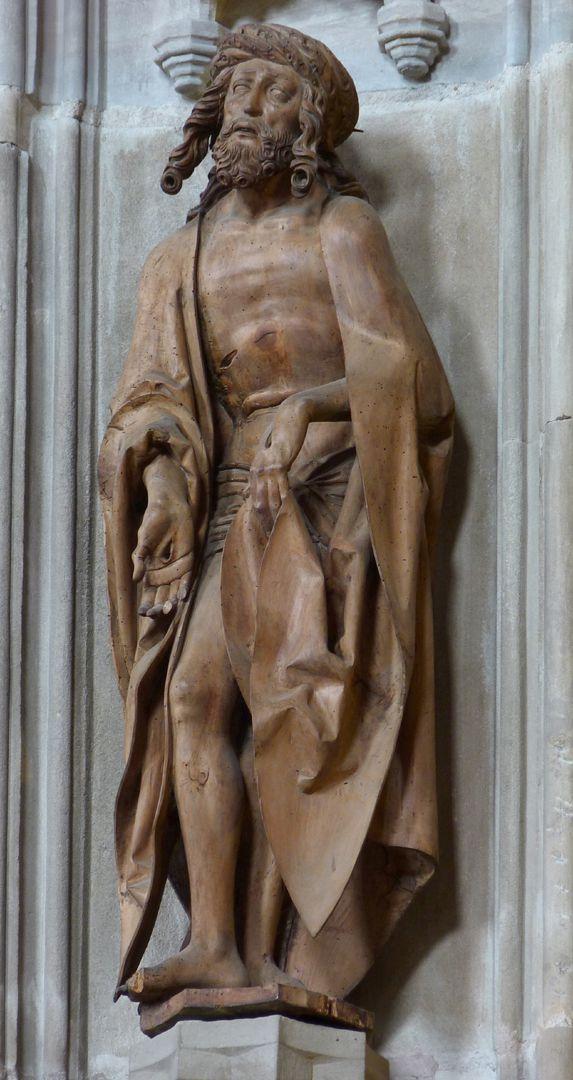 Maria, Christus,  Johannes Schmerzensmann