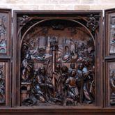 Retabel aus der ehemaligen Karmelitenkirche