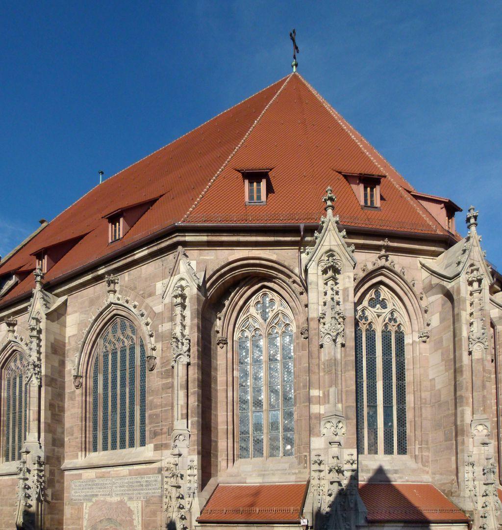 St. Lorenz, Chor Chorobergaden von SO