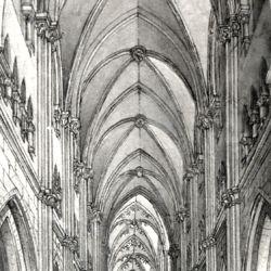 Das Innere der Sebaldskirche zu Nürnberg