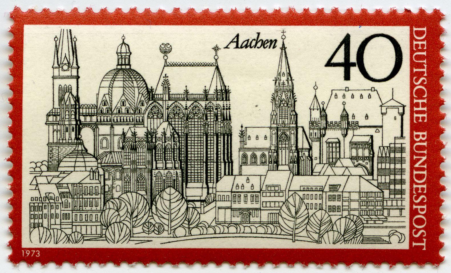 Aachen Gesamtansicht