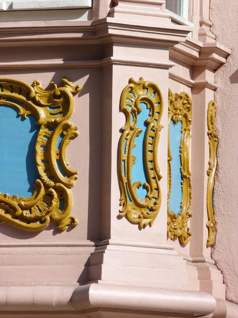 Adlerstraße 16, Chörlein Detail