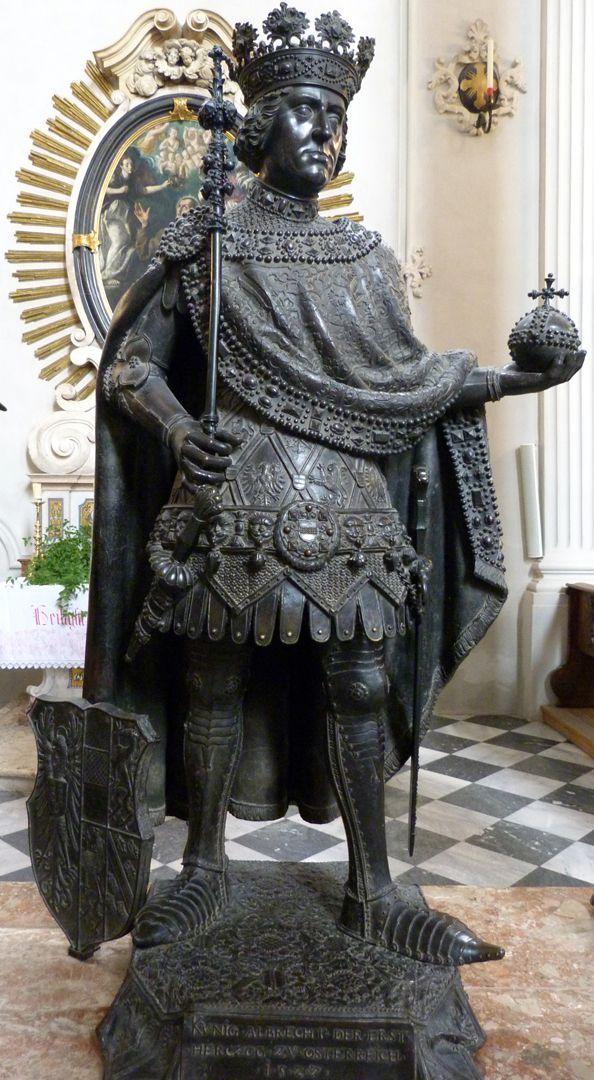 Albrecht I. (Innsbruck) Frontalansicht