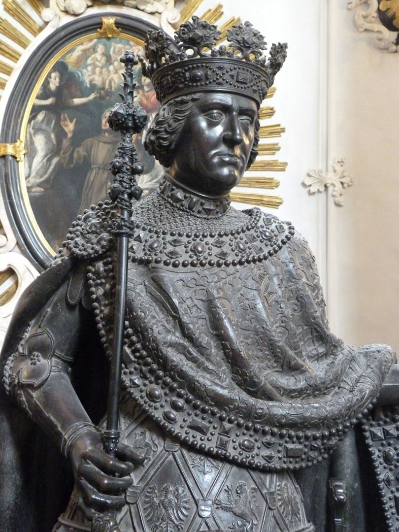 Albrecht I. (Innsbruck) obere Figurhälfte