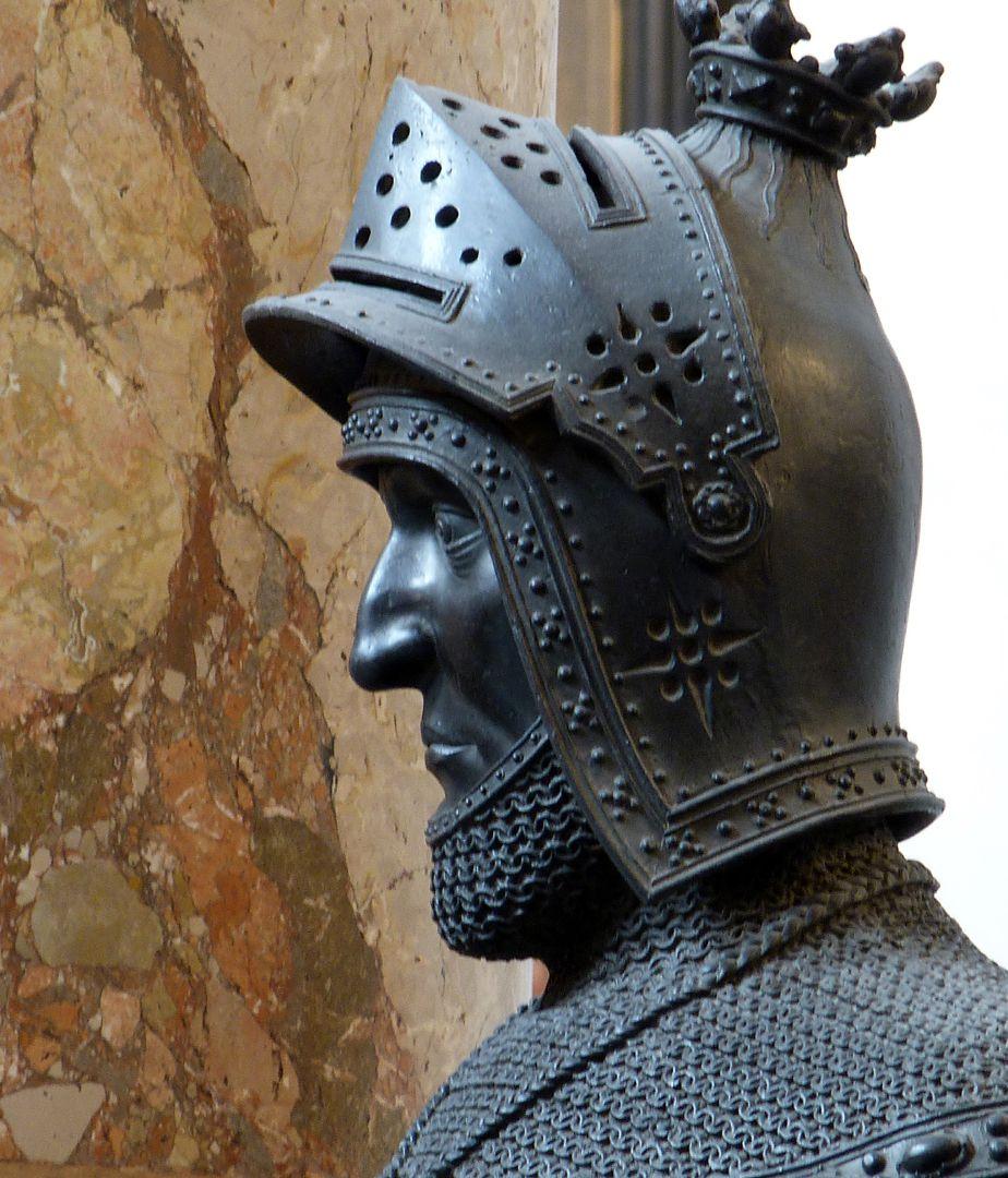 Albrecht II. der Weise (Innsbruck) Kopf