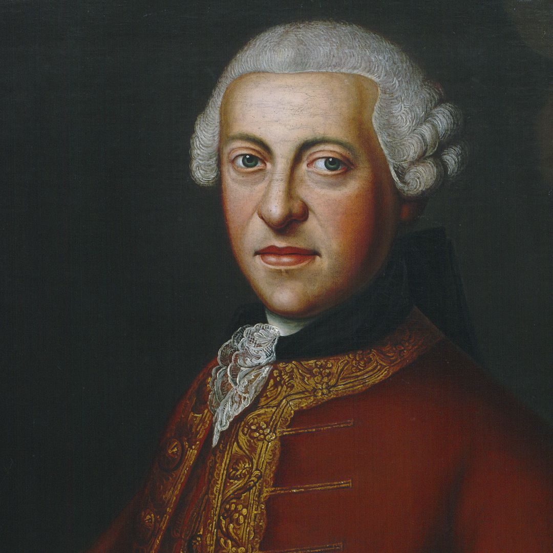 Portrait des Albrecht Ludwig von Hailbronner (1727-1788) Detail