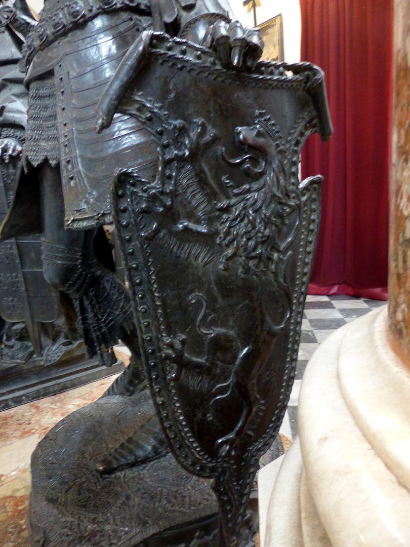 Albrecht von Habsburg (Innsbruck) Schild