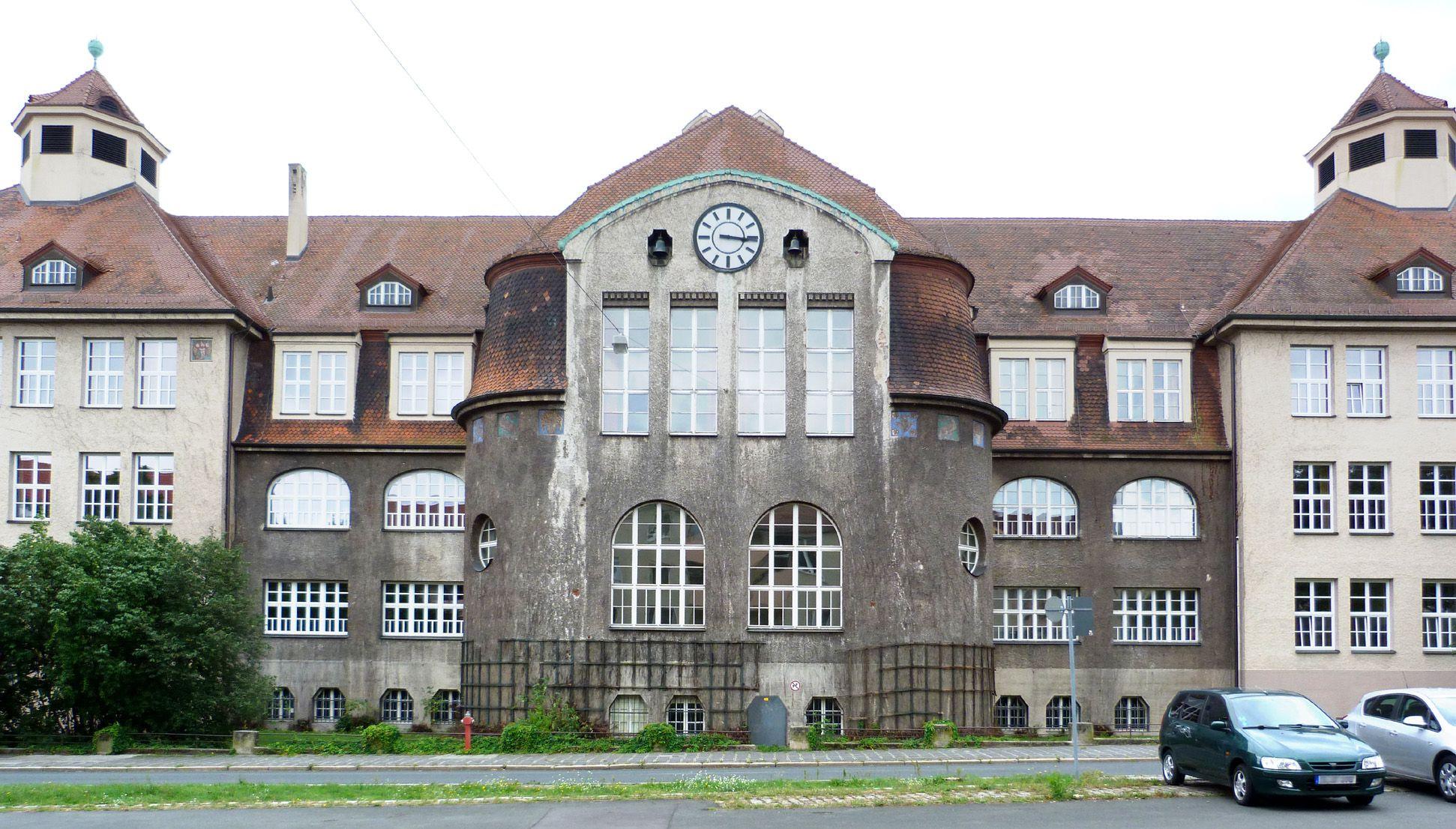 Georg-Paul-Amberger-Schule Ansicht von Nordwest