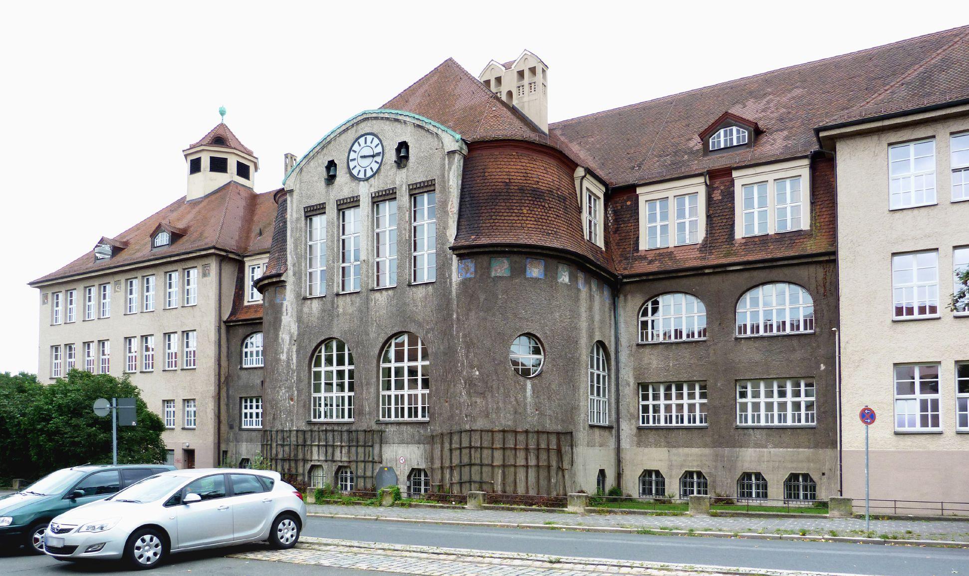 Georg-Paul-Amberger-Schule Ansicht von Westen
