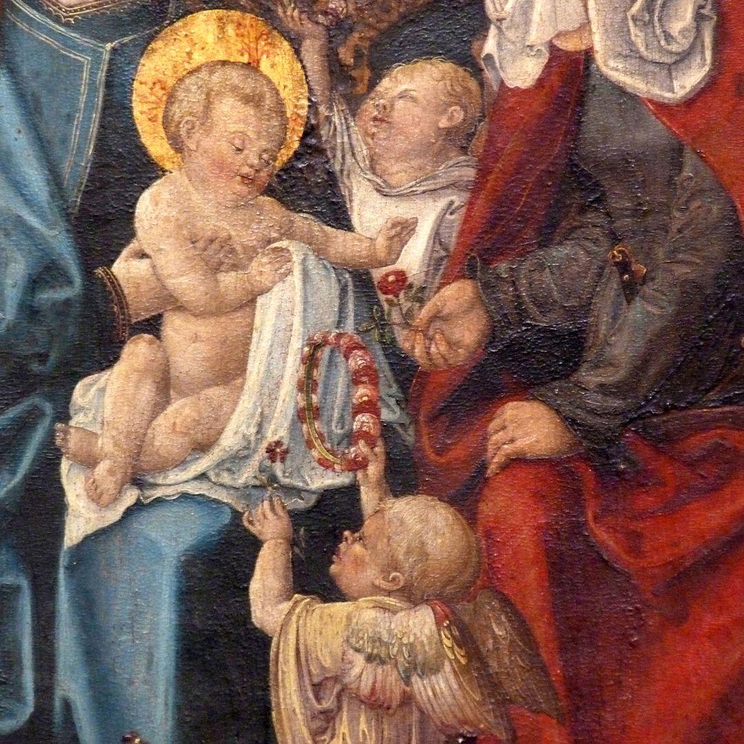 Heilige Sippe Detail mit Jesukind und Engeln